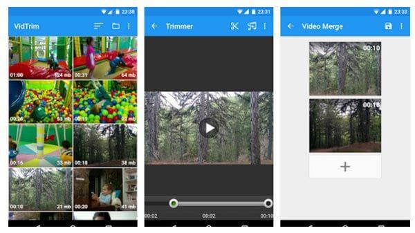 Πρόγραμμα επεξεργασίας βίντεο VidTrim