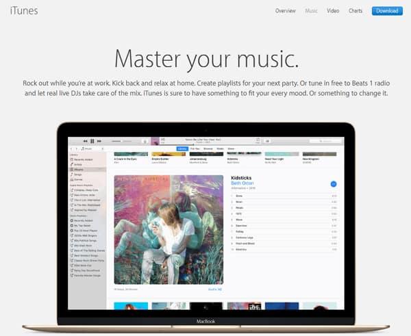Κατάστημα μουσικής iTunes