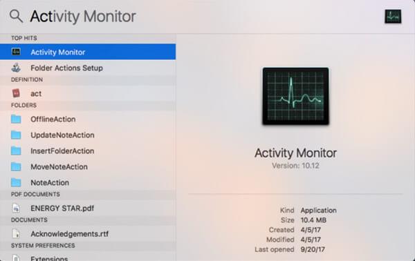 Monitoraggio attività