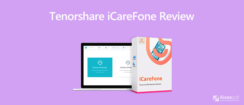 Tenorshare iCareFone Review
