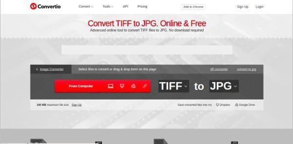 Μετατροπέας αρχείων Tiff σε απευθείας σύνδεση