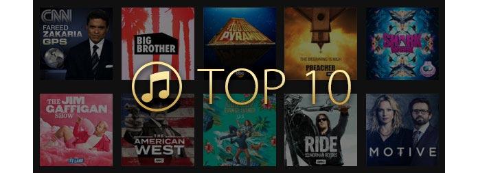 Top 10 wypożyczalni filmów z iTunes