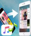Transfer music from iPhone to another iPhone