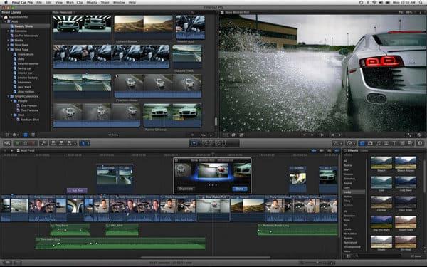 Edytor YouTube - Final Cut Pro