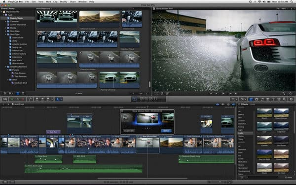 Editor di YouTube - Final Cut Pro