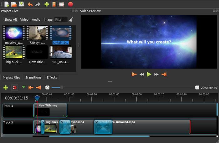 Openshot Video-editor