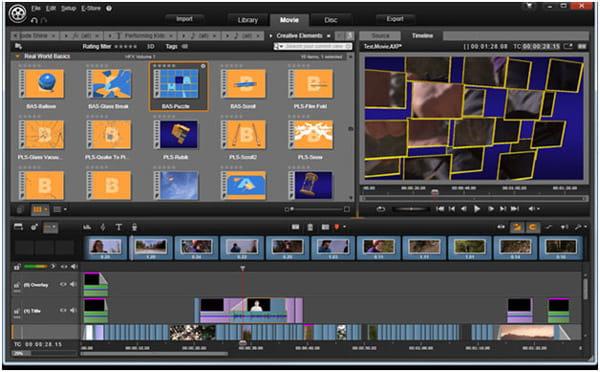 Editor di YouTube - Pinnacle Studio 16 Ultimate