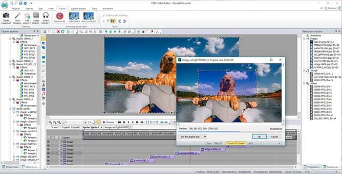 Editor WMV - Editor video gratuito VSDC