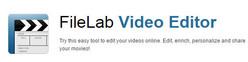 Κόπτης επεξεργασίας βίντεο FileLab