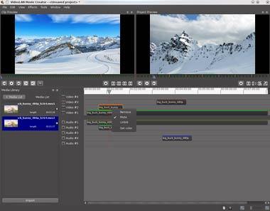 Δημιουργός ταινιών VideoLAN