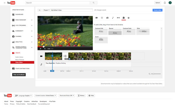 How to edit videos with best video editing software youtube editor ccuart Image collections
