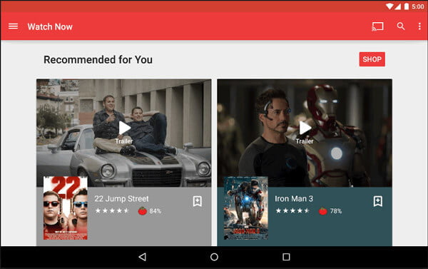 Google Play Film e TV