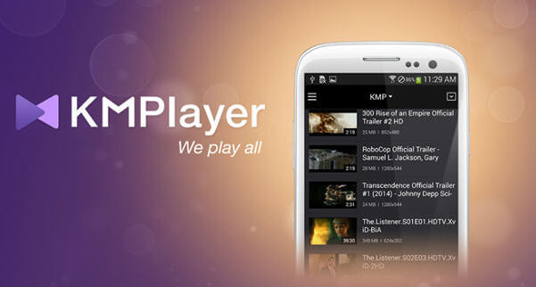 KMPlayer per Android