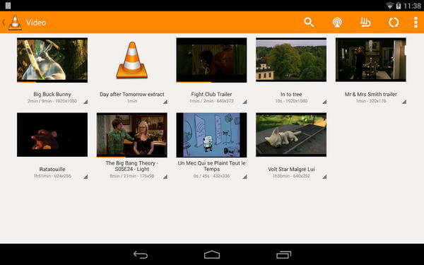 VLC Player per Android
