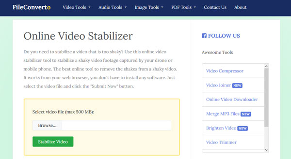 Διαδικτυακός σταθεροποιητής βίντεο