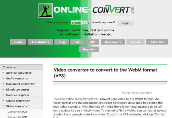 Convertire online