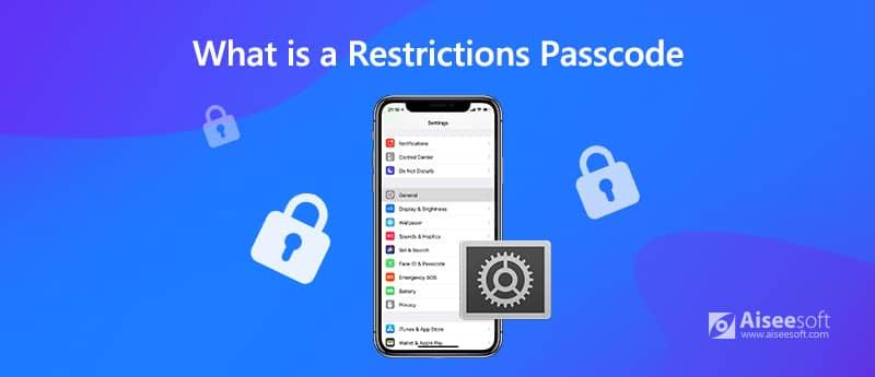 Τι είναι ένας κωδικός πρόσβασης περιορισμών