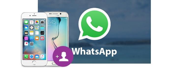 Voeg WhatsApp-contacten toe aan iOS- en Android-apparaten