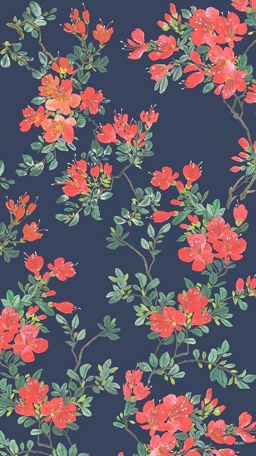 Ταπετσαρία λουλουδιών