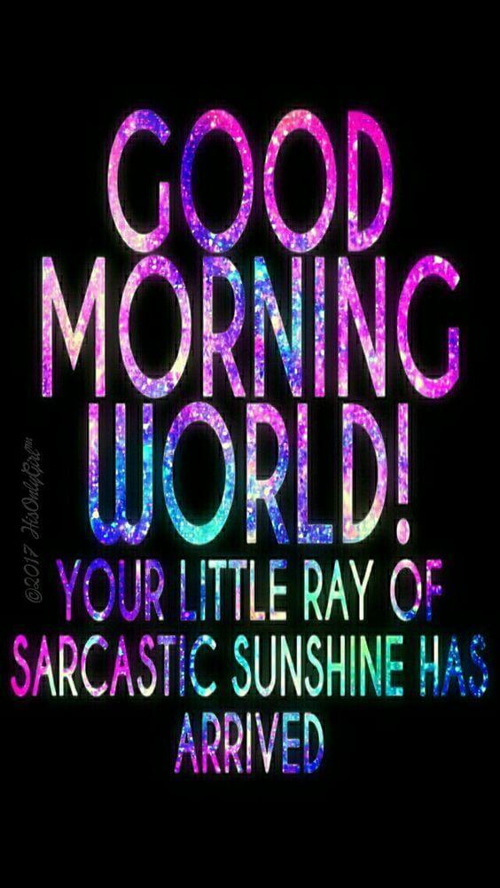 Καλημέρα κόσμε
