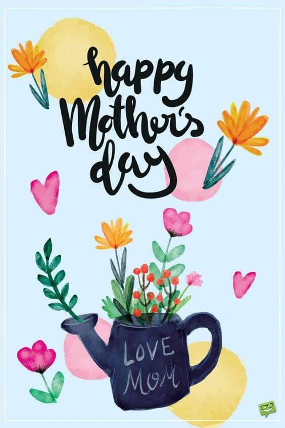 Χαρούμενη γιορτή της μητέρας