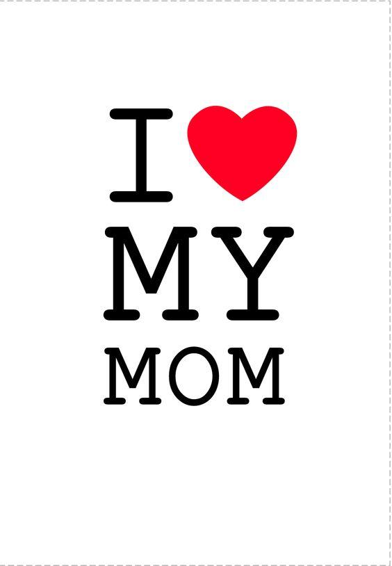 αγαπώ τη μαμά