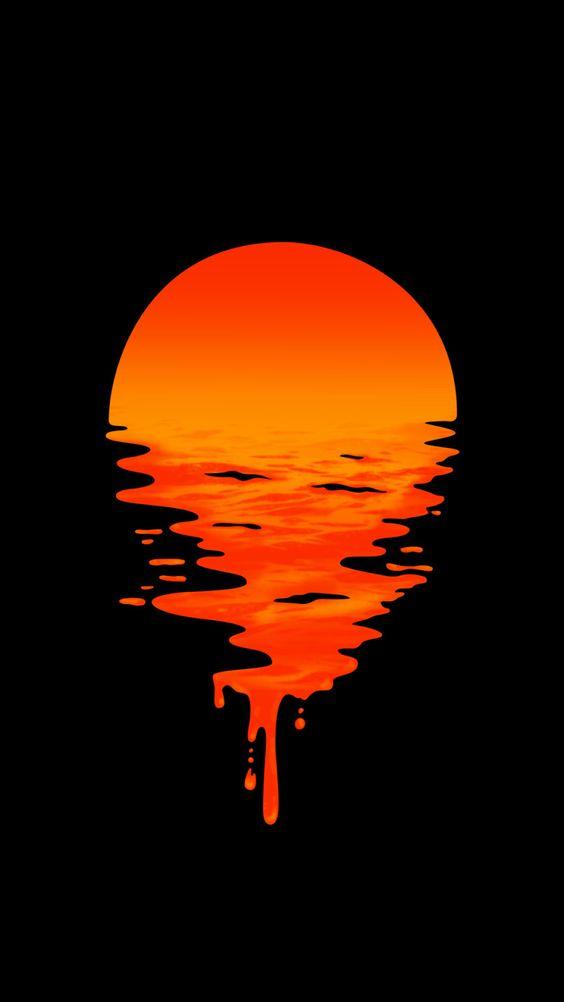 Υγρό ηλιοβασίλεμα