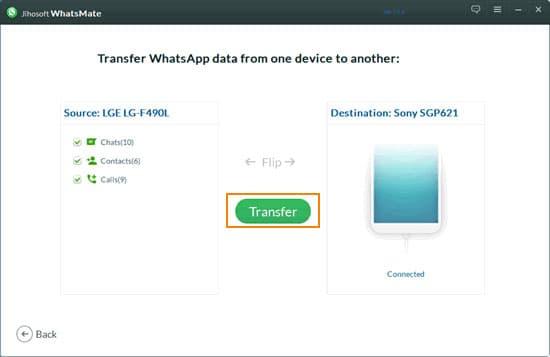 Przenieś WhatsApp