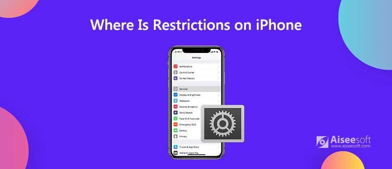 Dov'è le restrizioni su iPhone