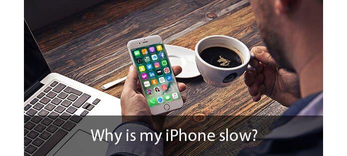 Dlaczego mój iPhone jest wolny?
