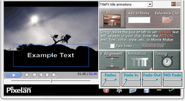 Plugin Titlefx Windows Movie Maker Plugin