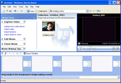 Windows Movie Maker Impossibile registrare