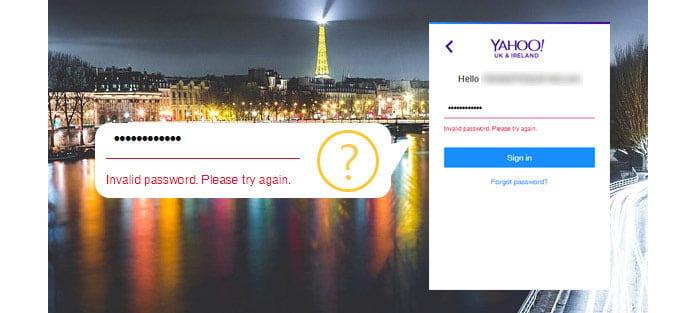 Yahoo Mail Ξεχάσατε τον κωδικό πρόσβασης