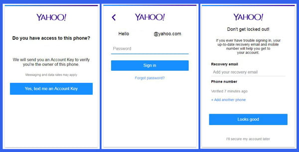 Yahoo Messenger Login from Email