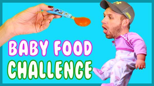 Sfida dell'alimento per bambini