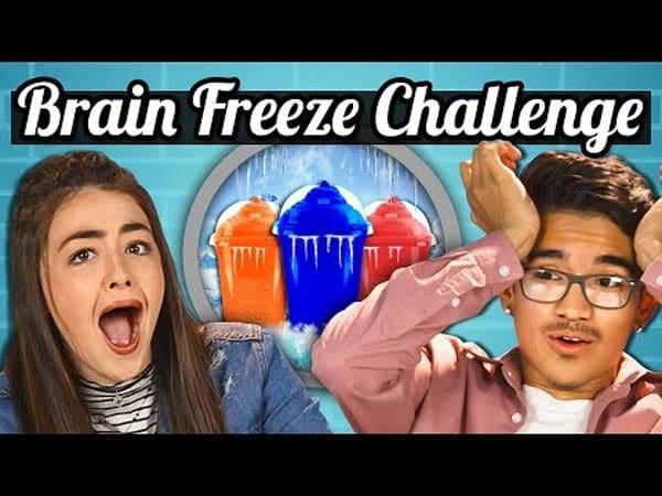 Πρόκληση παγώματος εγκεφάλου