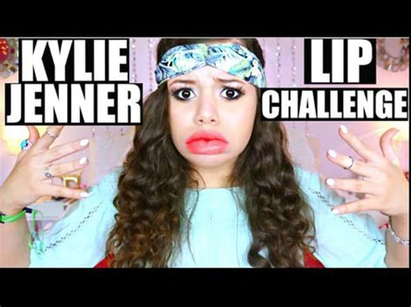 Kylie Lip Challenge