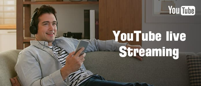 Video streaming live di YouTube