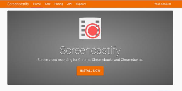 Rozszerzenie Chrome Screencastify
