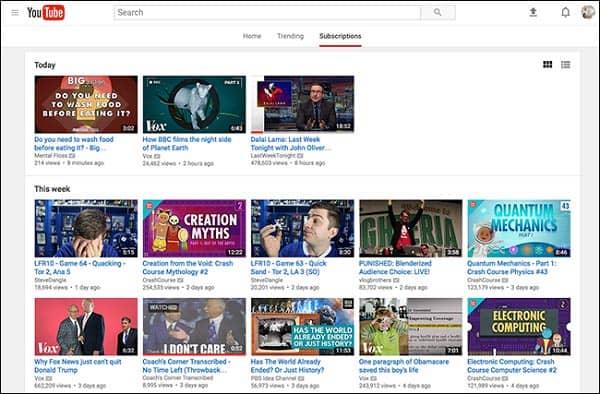 Συνδρομή YouTube