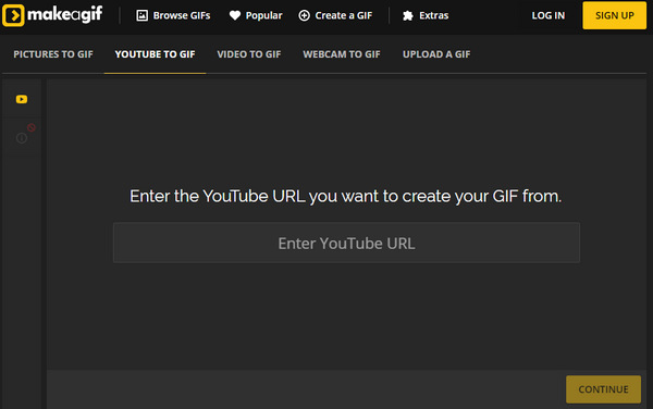 YouTube to GIF Maker