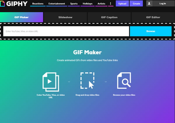 Make an animated gif from youtube with youtube to gif maker gif maker video to gif creator tool negle Images