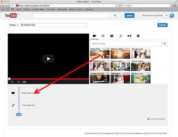 Importa video da YouTube