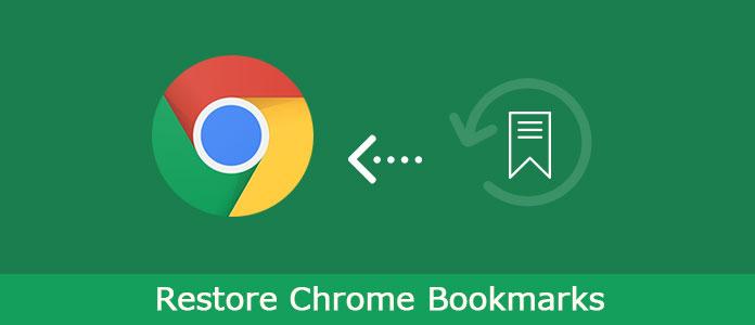 Przywróć Chrome Bookmarks