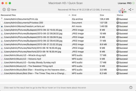 Odzyskaj kosz na Macu za pomocą Disk Drill
