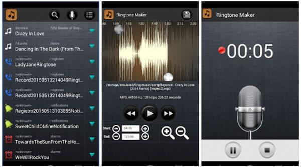 Ringtone Maker i MP3 Cutter
