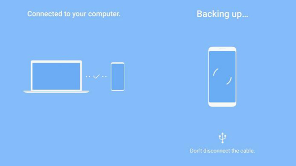 Eseguire il backup dei messaggi Samsung con Smart Switch