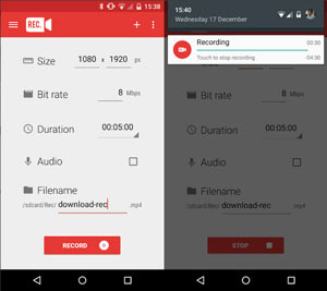 Best 8 Screen Recorder Apps for Android with Internal Audio