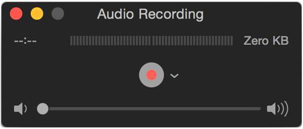Nagrywaj audio za pomocą Quicktime Player