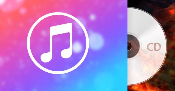 Masterizza iTunes Music su CD